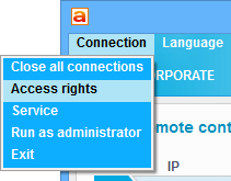 connection-access-rights