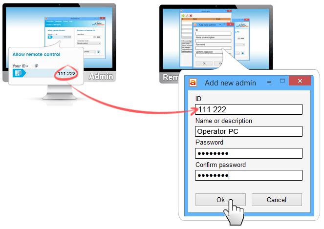 AeroAdmin - unattended access, remote server administration
